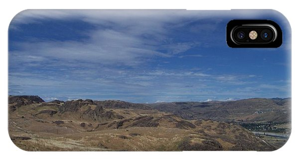 Scablands At Grand Coulee IPhone Case