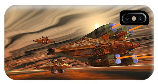 Endless iPhone Case - Scadlands by Corey Ford
