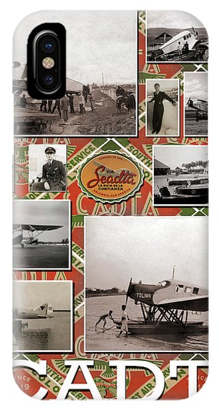 Scadta Airline Poster IPhone Case