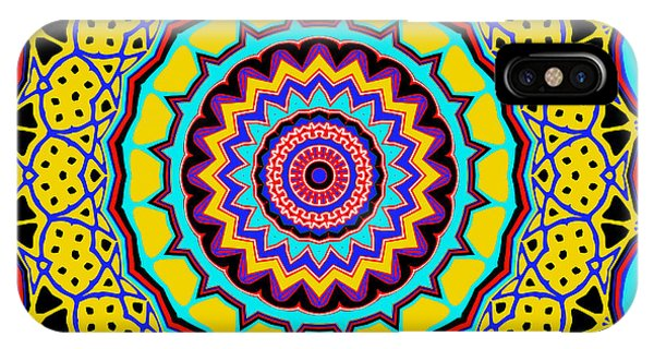 IPhone Case featuring the digital art Scalloped by Joy McKenzie