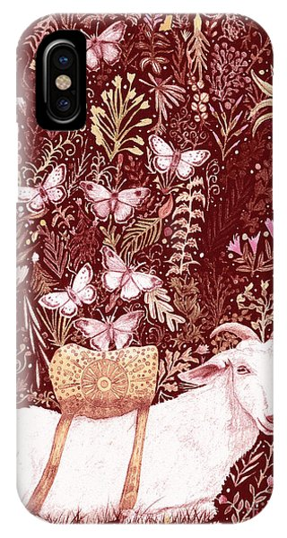 Scapegoat Healing Tapestry Print IPhone Case