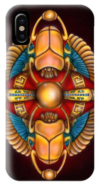 Scarab Beetle Design IPhone Case