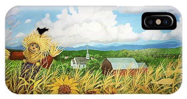 Scarecrow Farm IPhone Case