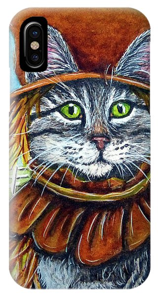 Scarecrow Tabby IPhone Case