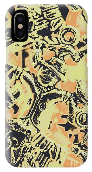 Stainless Steel iPhone Case - Scarecrows Of Autumn Harvest by Jorgo Photography - Wall Art Gallery