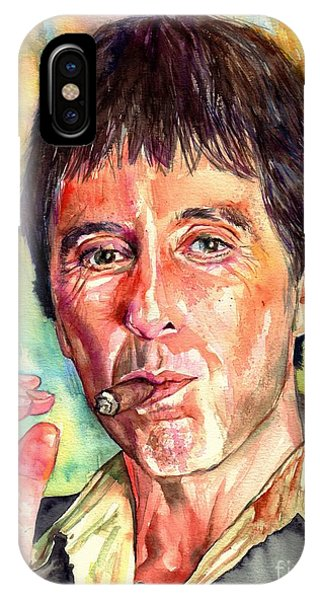 Harlem iPhone Case - Scarface by Suzann's Art