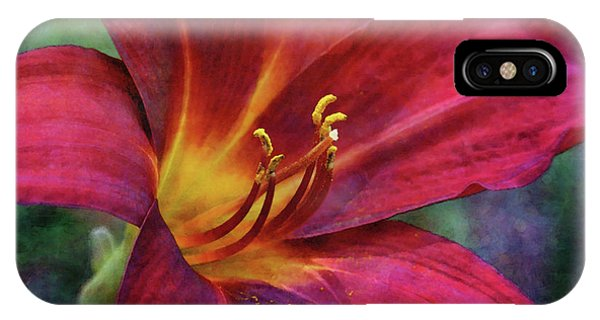 Scarlet And Gold Dust 3716 Idp_2 IPhone Case