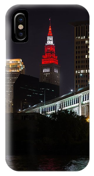 Scarlet And Gray IPhone Case