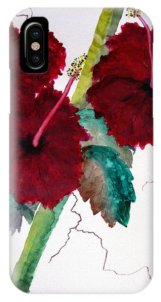 Scarlet Red IPhone Case