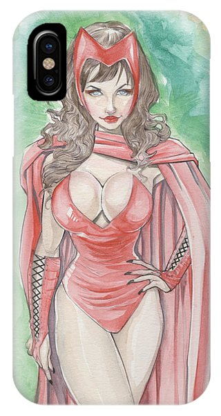 Scarlett Witch IPhone Case
