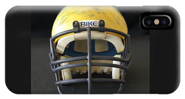Scarred 1980s Wolverine Helmet IPhone Case