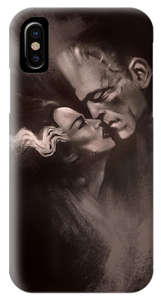 Tribute iPhone Case - Scarred Lovers by Alex Ruiz