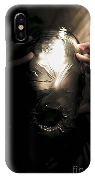 Ghastly iPhone Case - Scary Face Of Terror by Jorgo Photography - Wall Art Gallery