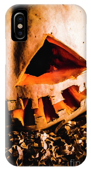 Jack iPhone Case - Scary Jack O Lantern. Halloween Faces by Jorgo Photography - Wall Art Gallery