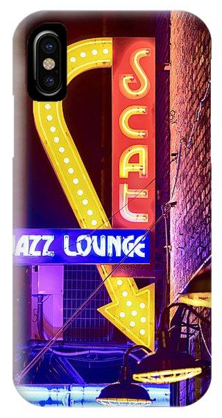 Scat Jazz Neon V3 IPhone Case