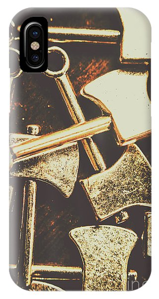 Scattering Axes IPhone Case
