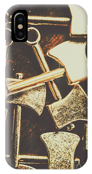 Small Business iPhone Case - Scattering Axes by Jorgo Photography - Wall Art Gallery