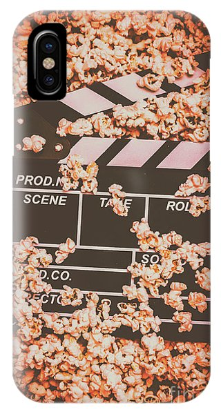 Movie iPhone Case - Scene From A Film Production by Jorgo Photography - Wall Art Gallery
