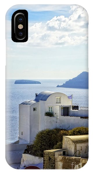 Greece iPhone Case - Scenic Oia by HD Connelly