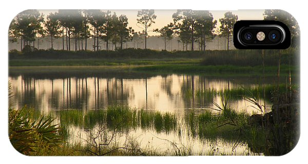 Scenic Reflections After Sunrise Phone Case by Rosalie Scanlon