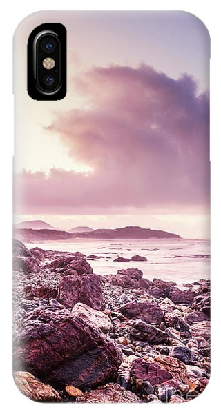 Dawn iPhone Case - Scenic Seaside Sunrise by Jorgo Photography - Wall Art Gallery
