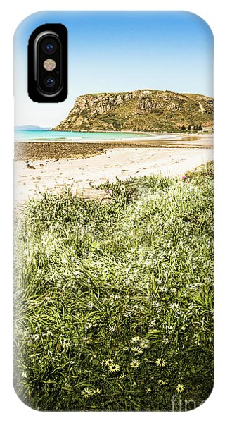 Attraction iPhone Case - Scenic Stony Seashore by Jorgo Photography - Wall Art Gallery