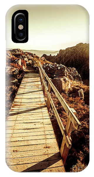 Ben iPhone Case - Scenic Summit Boardwalk by Jorgo Photography - Wall Art Gallery