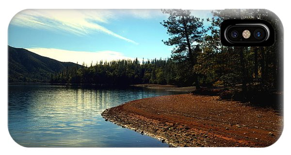 Water Ski iPhone Case - Scenic Whiskeytown Lake by Joyce Dickens