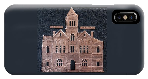 Schley County, Georgia Courthouse IPhone Case