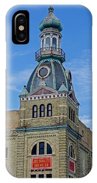 Schlitz Brewing Company 8 IPhone Case