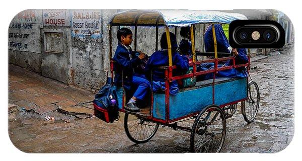 School Cart IPhone Case