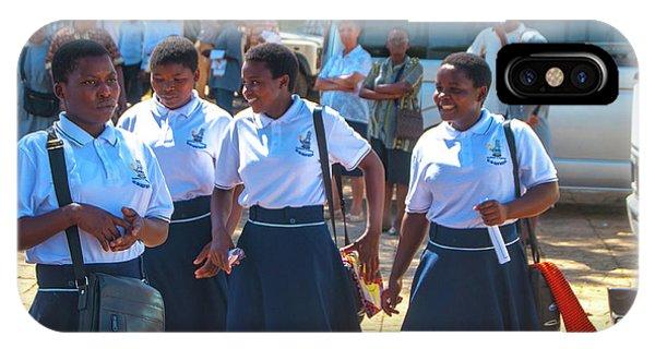 School Girls IPhone Case