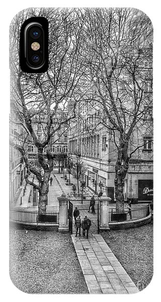 School Lane From The Bluecoat IPhone Case