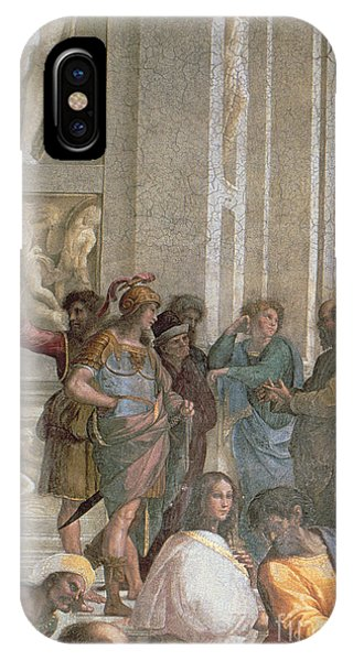 School Of Athens, From The Stanza Della Segnatura IPhone Case