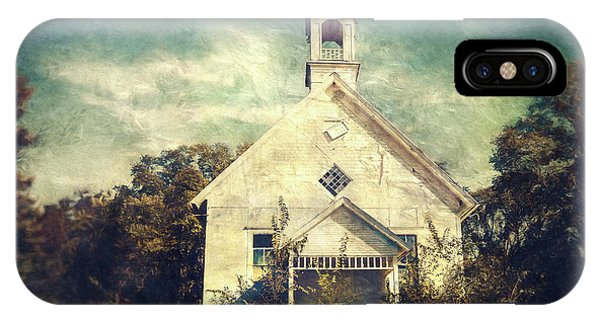 Bell iPhone Case - Schoolhouse 1895 by Scott Norris