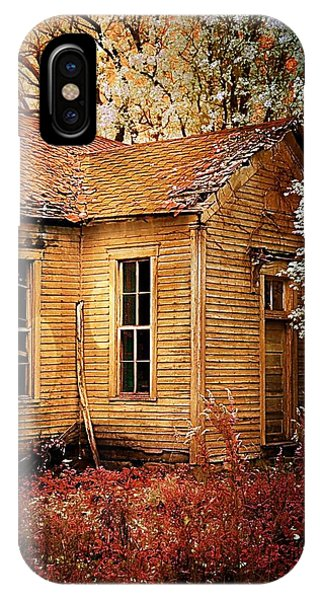 Schoolhouse In The Spring IPhone Case