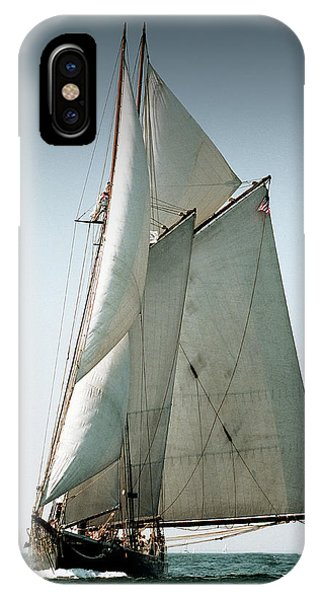 Schooner Ernestina IPhone Case