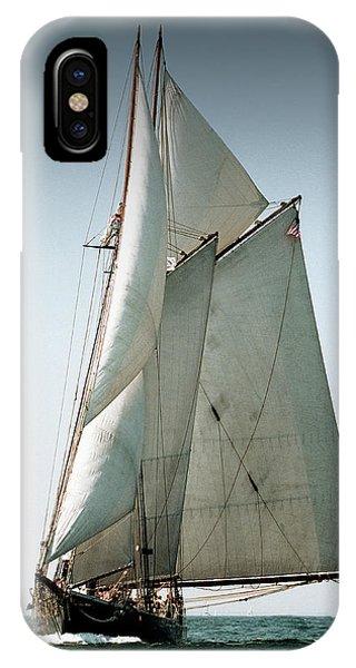 Schooner Ernestina IPhone Case