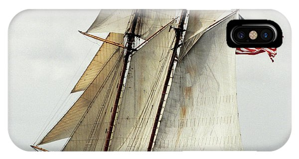 Schooner Pride Of Baltimore II IPhone Case