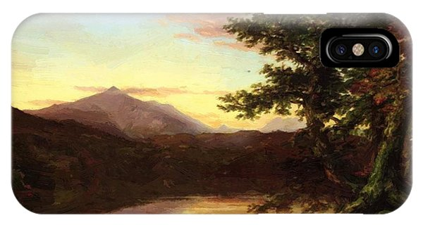 Schroon Lake 1840 IPhone Case