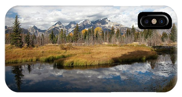 Schwabachers Landing, Grand Teton National Park Wyoming IPhone Case