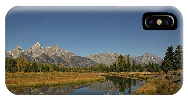 Schwabacher's Landing In Moonlight IPhone Case
