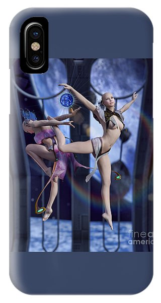Scifi Ballet IPhone Case
