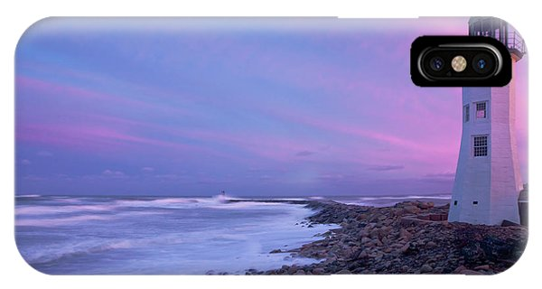 Scituate Sunset  IPhone Case