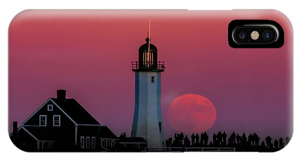 Scituate Supermoon IPhone Case