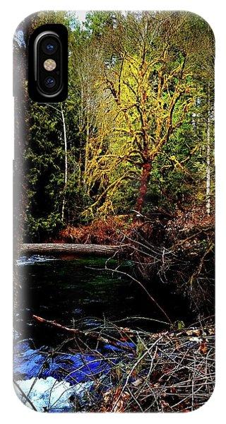 Scoggins Creek 3 IPhone Case
