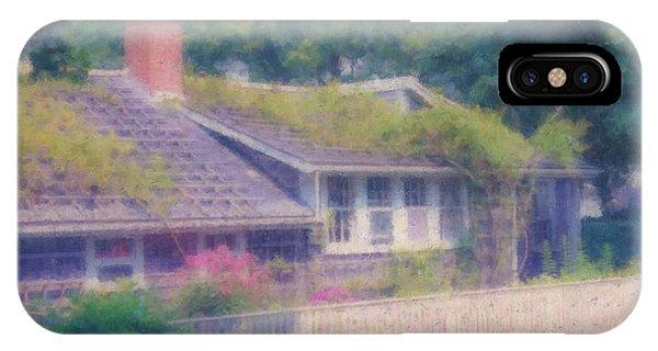 Sconset Cottage #3 IPhone Case