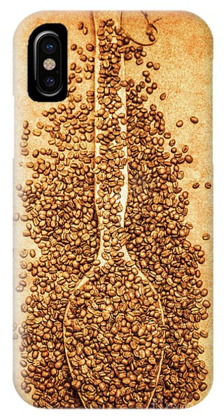 Nostalgia iPhone Case - Scoop Of Nostalgia At The Coffee Bean Store by Jorgo Photography - Wall Art Gallery