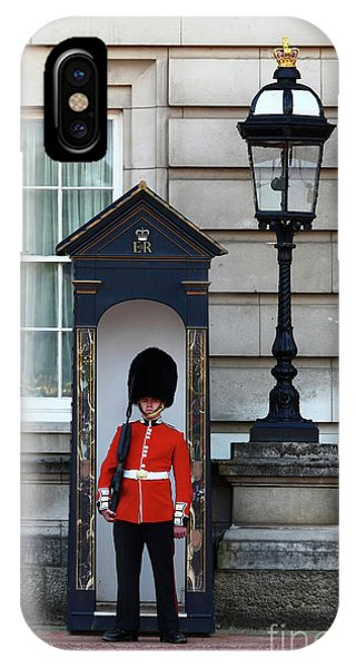 Scots Guard Buckingham Palace IPhone Case
