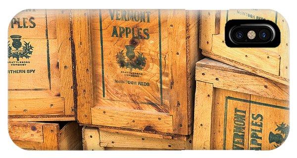 Scott Farm Apple Boxes IPhone Case